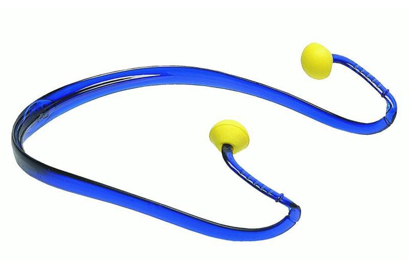 EAR BAND zátkové chrániče sluchu s plastovým obloukem SNR 21dB
