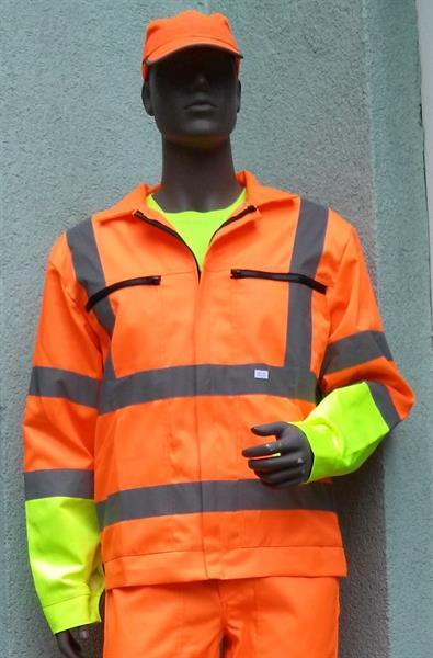 výstražný oděv podle směrnice ŘSD - blůza samostatná