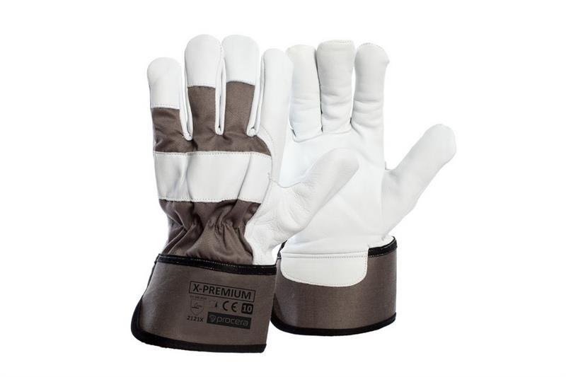 Premium  pracovní rukavice z kozí kůže