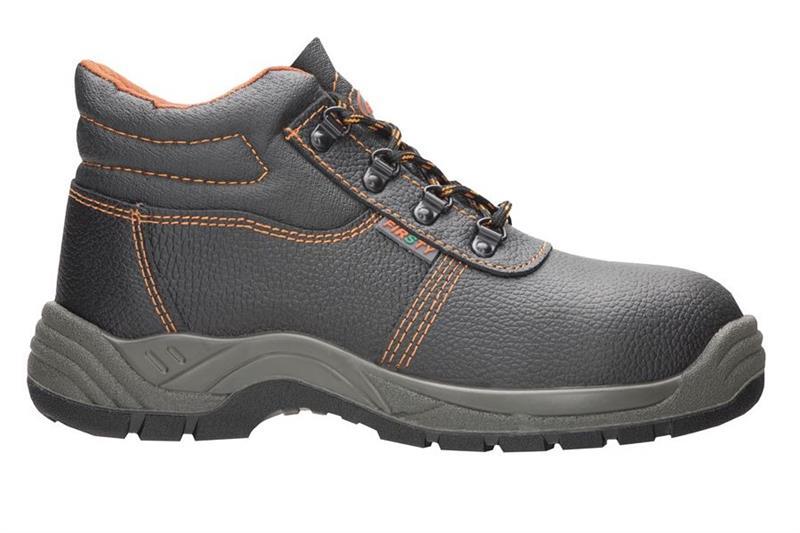 FIRSTY S1P kotníková bezpečnostní obuv se špicí a planžetou