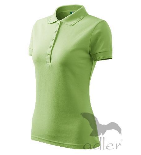 210 Polokošile dámská Pique Polo 200 trávově zelená