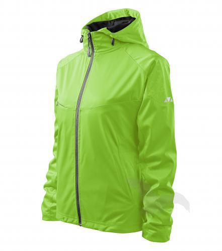Dámská bunda Cool 514, lehký softshell zelená