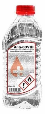 Dezinfekce Anti-COVID dezinfekce 1L