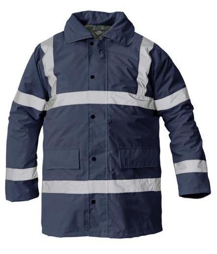 výstražná pracovní bunda Sefton-tm. modrá