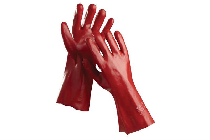 REDSTART pracovní rukavice máčené, 27cm