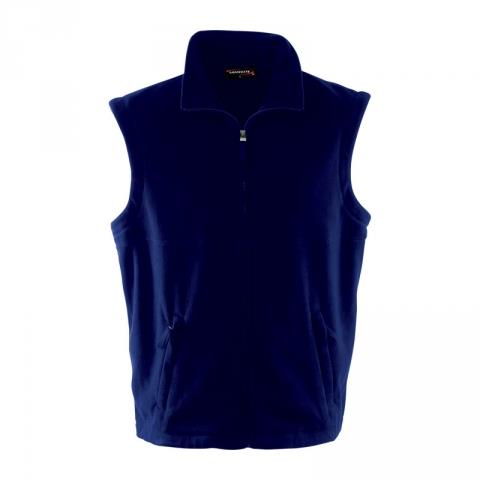 pánská vesta fleece tm.modrá