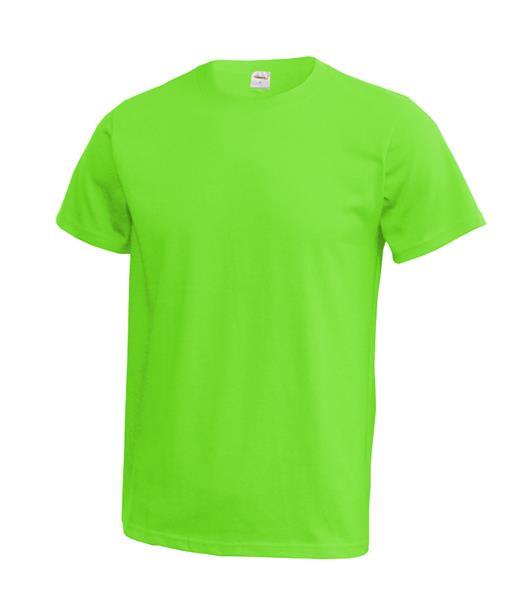 MT01 tričko zelená zářivě  180gr