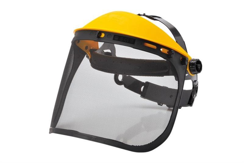PW93 ochranný štít s drátěným zorníkem