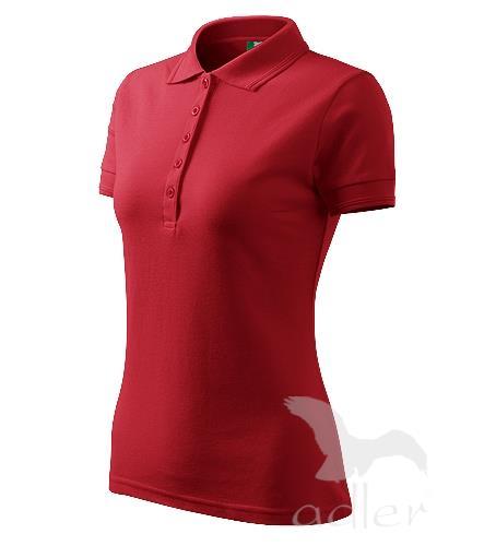 210 Polokošile dámská Pique Polo 200 červená