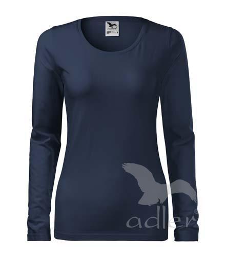 triko dámské, dlouhý rukáv, 180gr námořní modrá