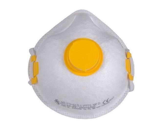 FS-613V FFP1 respirátor s ventilkem