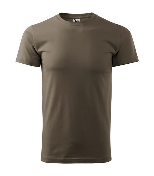 tričko barevné Adler Basic 160gr, kulatý výstřih - ARMY
