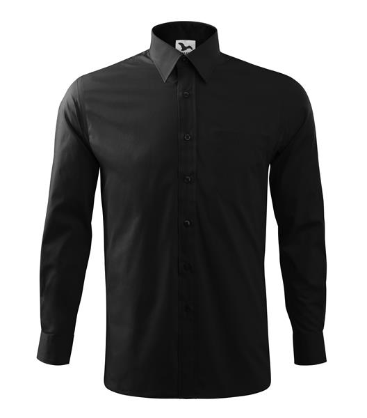 košile společenská černá, dlouhý rukáv