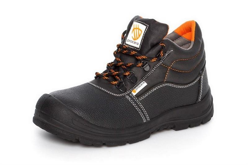 SOLID S1 pracovní kotníková obuv s ocelovou špicí