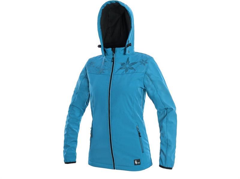 Page CXS - dámská softshellová bunda modrá