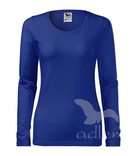triko dámské, dlouhý rukáv, 180gr tmavě modrá
