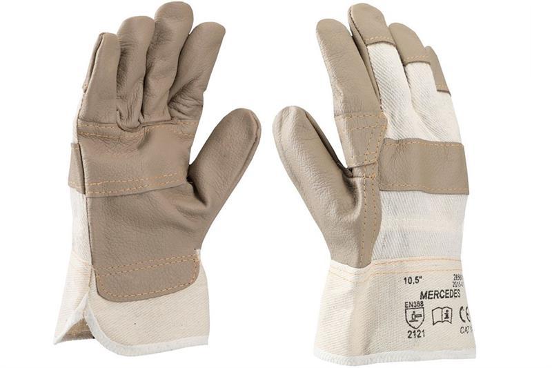 MERCEDES pracovní rukavice kombinované