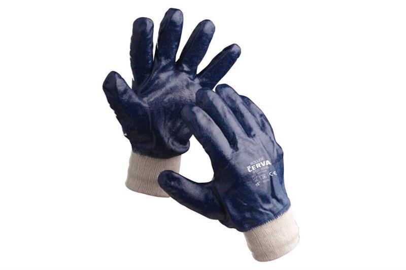 ROLLER pracovní rukavice celomáčené