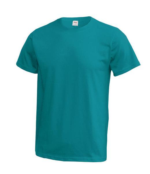 MT01 tričko tyrkysově modré  180gr