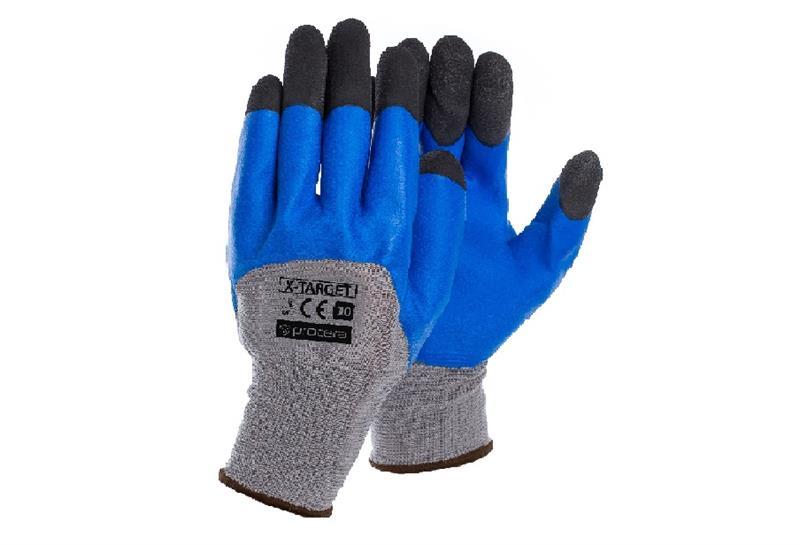 TARGET pracovní rukavice povrstvené latexem SKVĚLÁ CENA