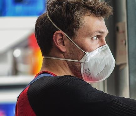 REFIL 730 respirátor skládací FFP2