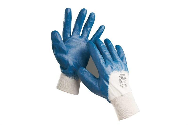 HARRIER pracovní rukavice polomáčené
