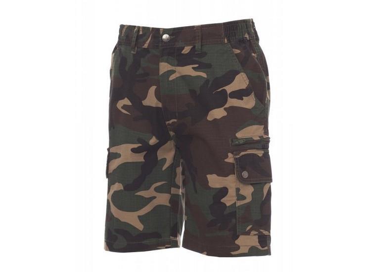 montérkové kraťasy - šortky camouflage