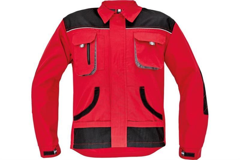 F&F CARL montérková bunda červená