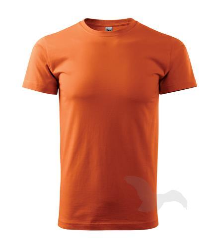 tričko barevné Basic 160gr, kulatý výstřih - oranžové