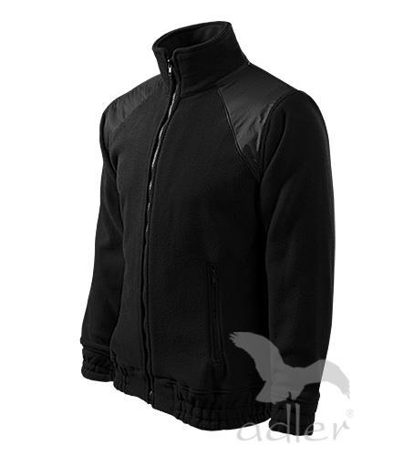 mikina fleece pánská černá - Adler 506