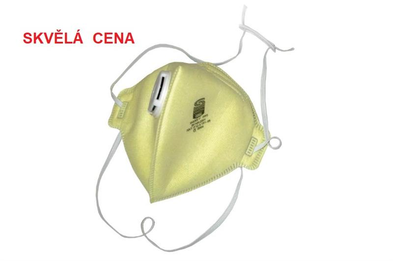 SH3300V FFP3 NR respirátor s ventilkem