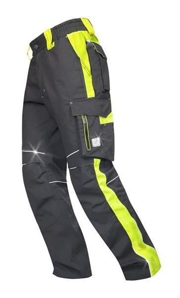 kalhoty do pasu Neon černo-žluté