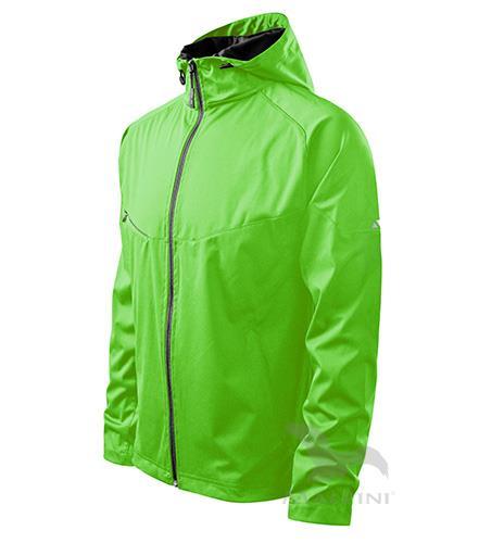 Kopie - Dámská bunda Cool 514, lehký softshell zelená