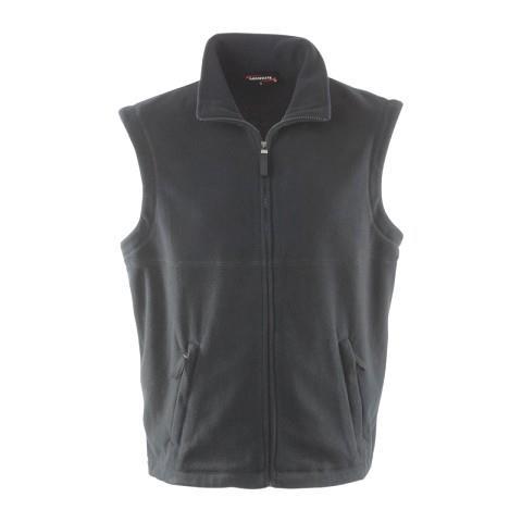 pánská vesta fleece tmavě šedá