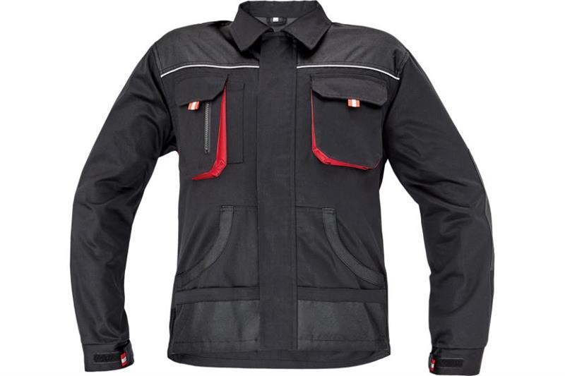 F&F CARL montérková bunda černá