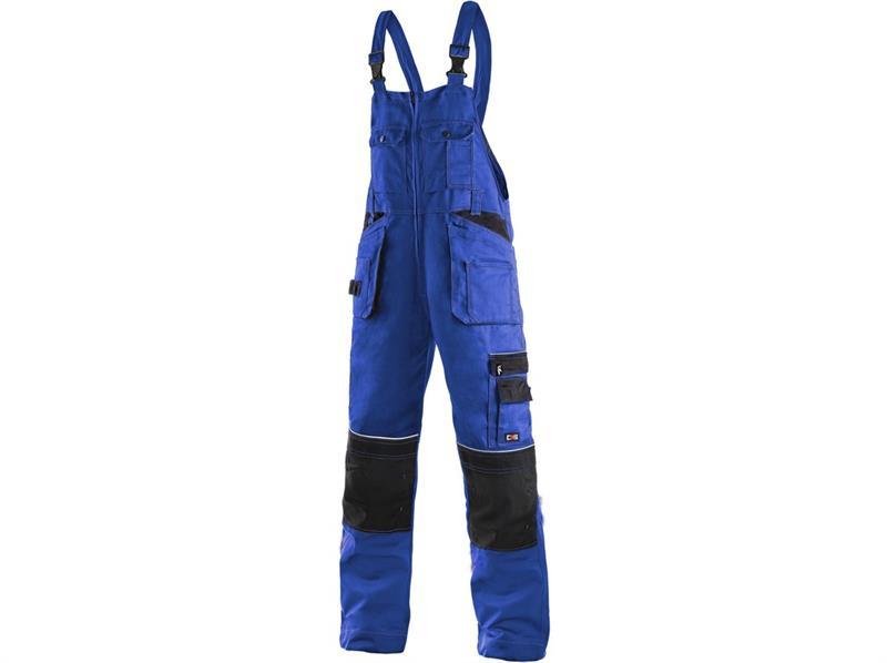 montérkové kalhoty laclové modré Kryštof - Canis