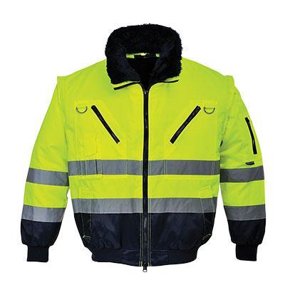 Reflexní víceúčelová bunda PJ50 žlutá