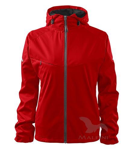 COOL Dámská softshellová bunda červená