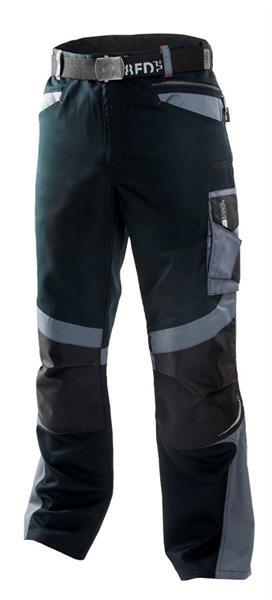 kalhoty do pasu R8ED černo/šedé