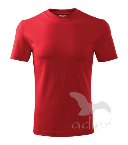 tričko Adler Classic160gr, červené