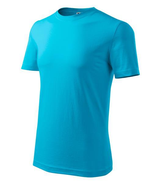 tričko Adler Classic160gr, tyrkysové