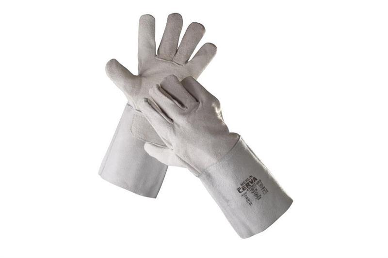 MERLIN celokožené svářečské rukavice