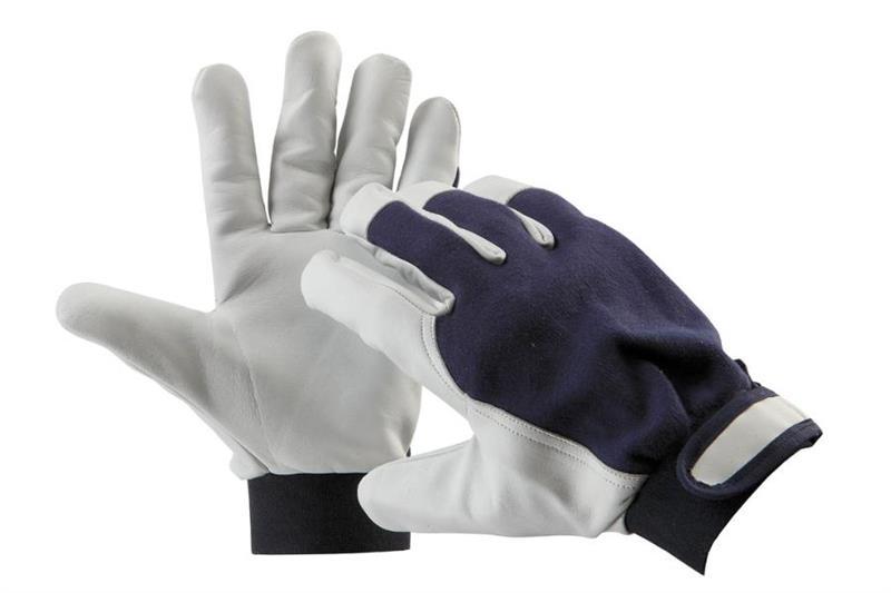 PELICAN BLUE pracovní rukavice kombinované