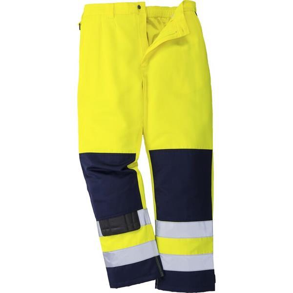 výstražné kalhoty do pasu TX71 žluté