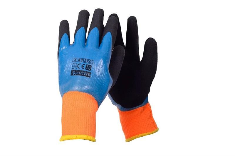 ABISKO zimní pracovní  rukavice máčené v latexu