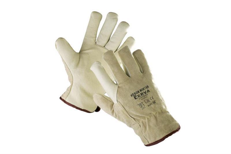 HERON/HILTON WINTER zateplené pracovní rukavice