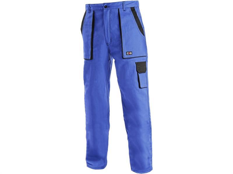 montérkové kalhoty Lux pasové modro-černé-Canis