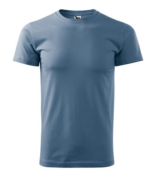 tričko barevné Adler Basic 160gr, kulatý výstřih - denim