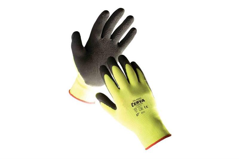 PALAWAN pracovní rukavice povrstvené latexem