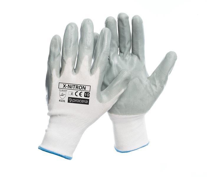 Nitron pracovní rukavice povrstvené polyuretanem